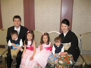 Family at the Wedding