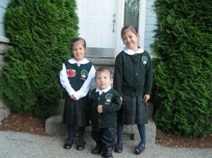 Second grade, Kindergarten, and Pre-K.